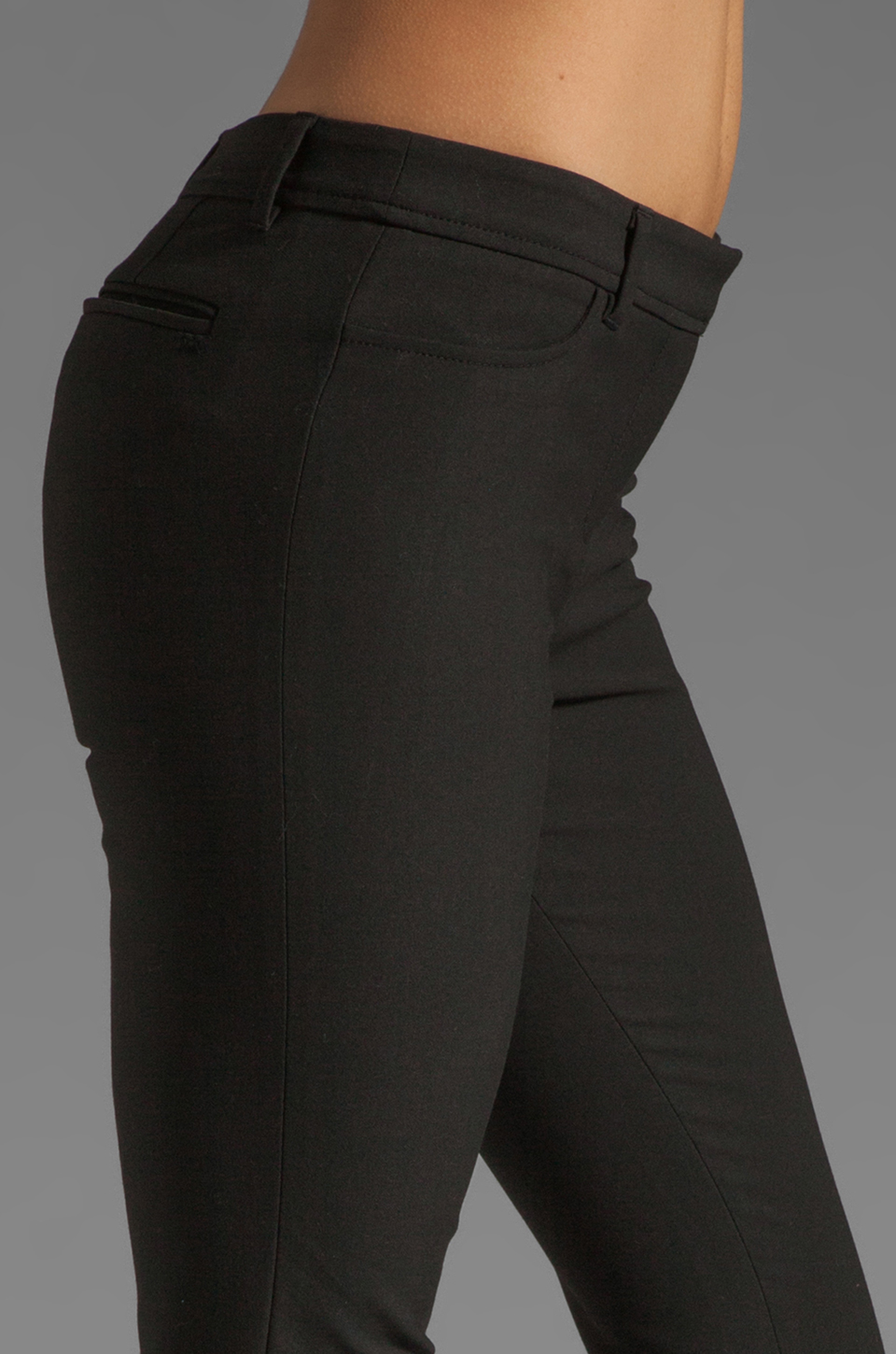 Elizabeth and James Wyatt Trouser in Black