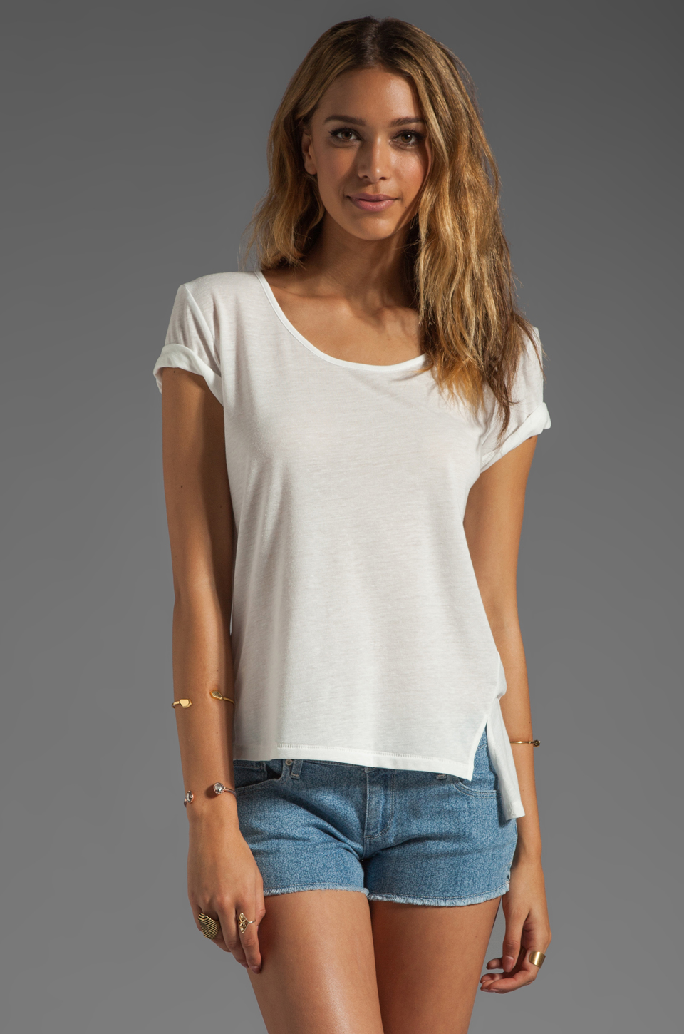 Elizabeth and James Kal Tee in White