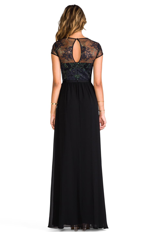 Erin Erin Fetherston Peyton Gown In Black Revolve