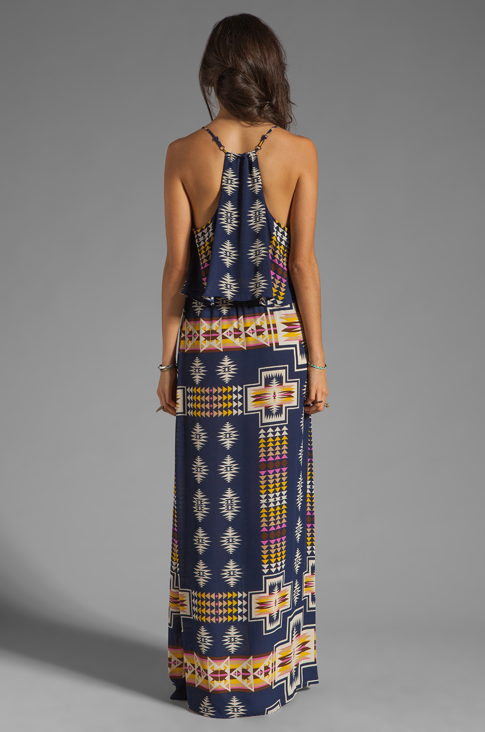 Eight Sixty Tribal Maxi in Navy