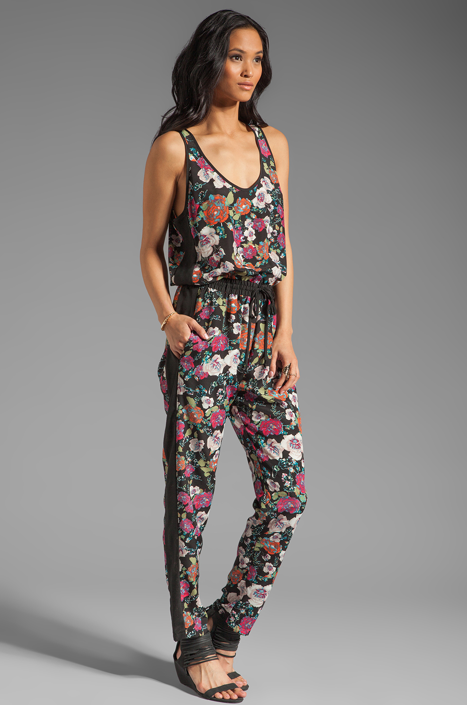 Eight Sixty Alice Floral Jumpsuit in Multi