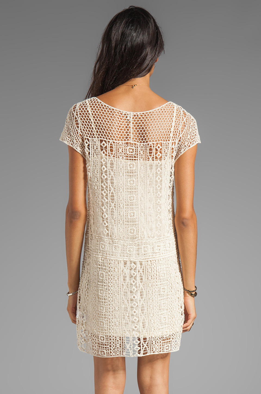 Ella Moss Hailee Crochet Dress in Natural