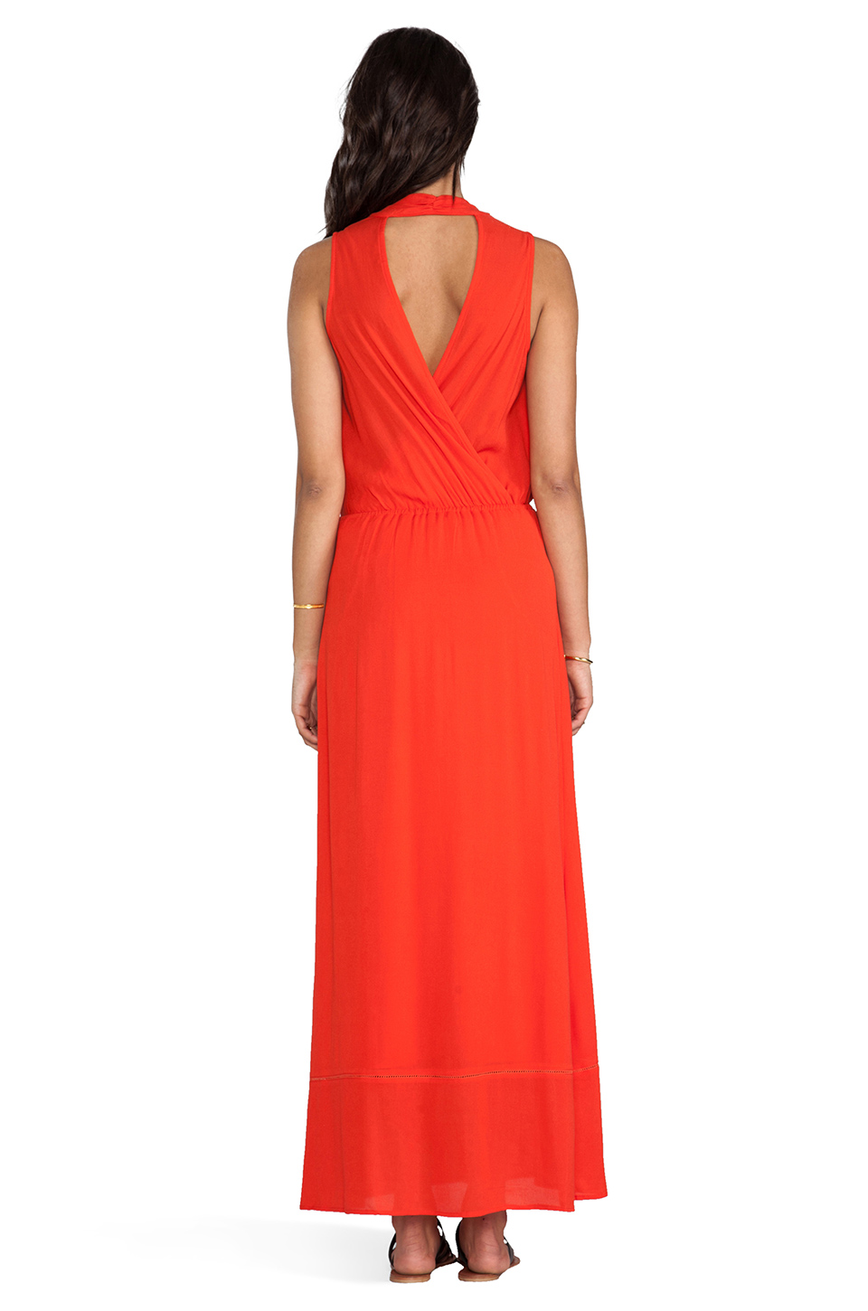 Ella Moss Stella Maxi Dress in Tomato