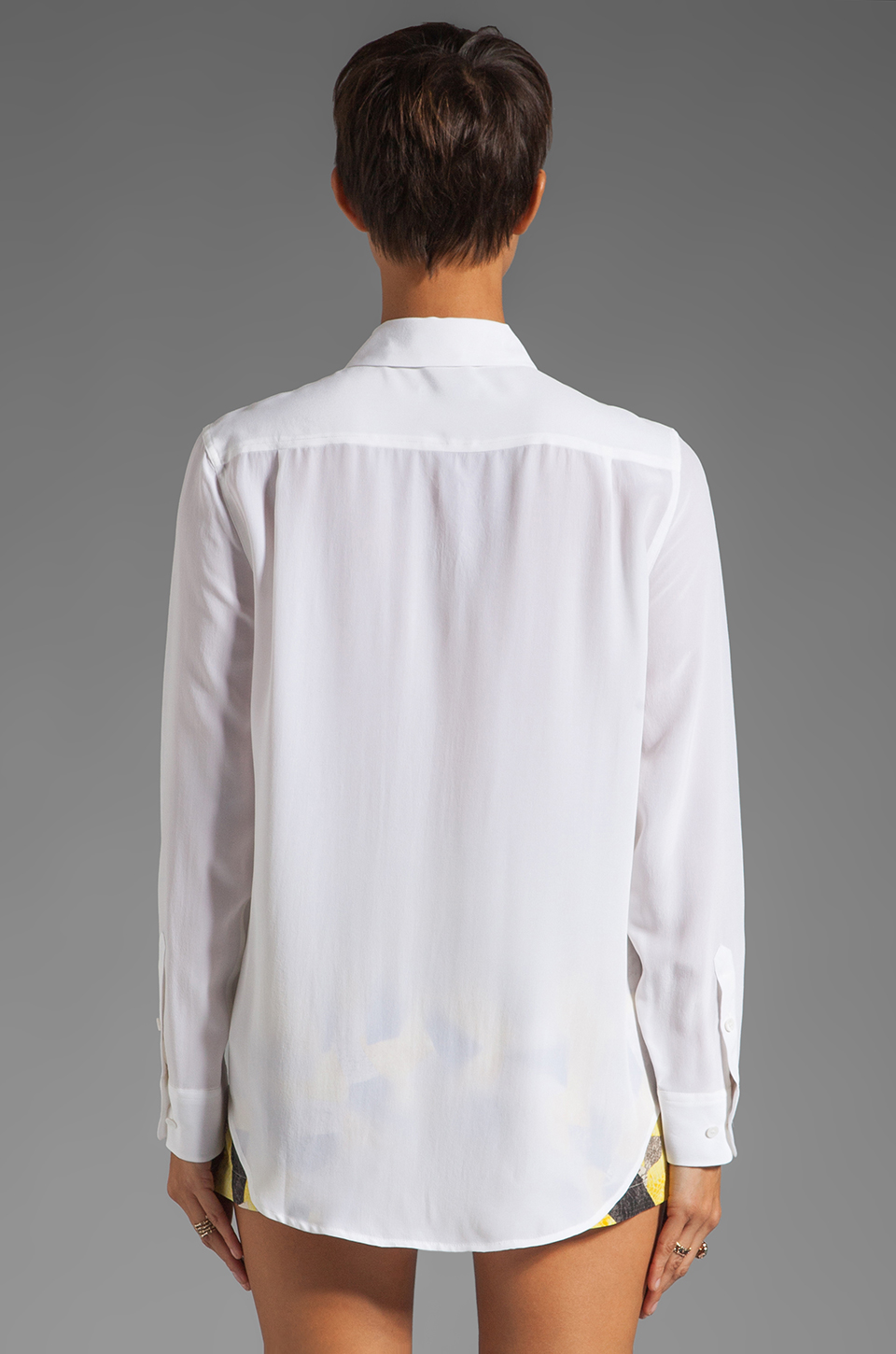 Equipment Reese Blouse in Bright White