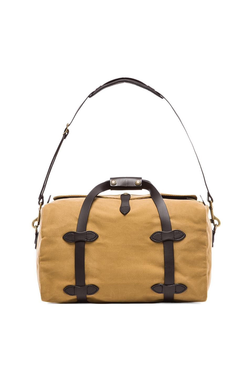 Filson Small Duffle in Tan