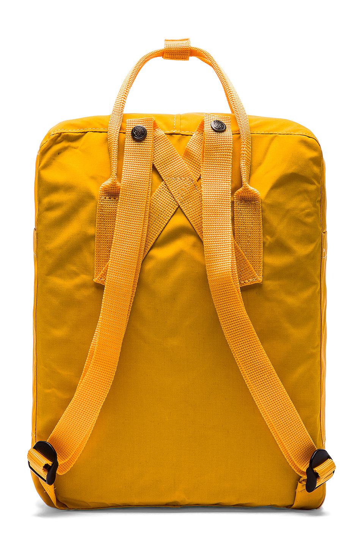 Fjallraven Kanken in Warm Yellow