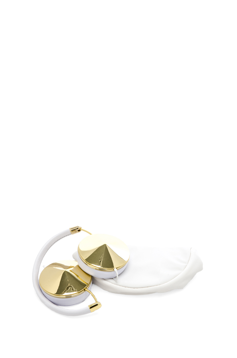 FRENDS Taylor Headphone in Gold & White