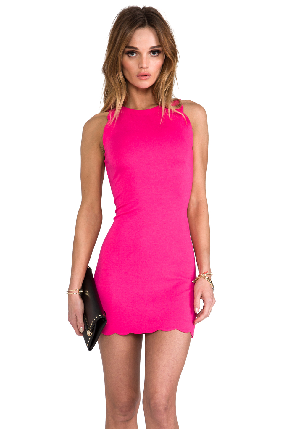 bright pink dresses cocktail dresses 2016