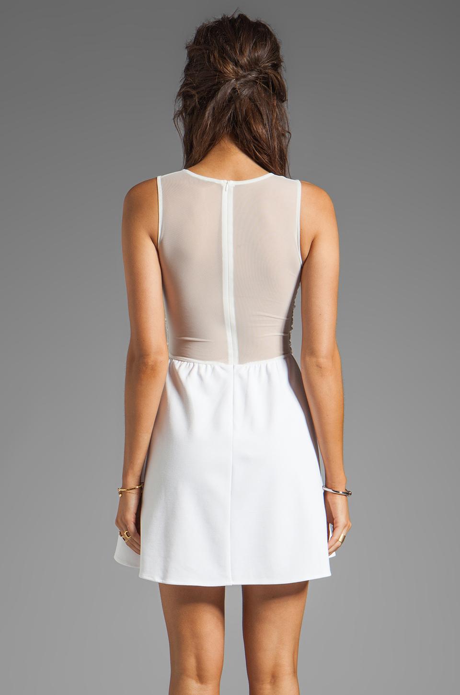 For Love & Lemons Lulu Dress in Ivory