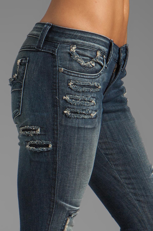 Frankie B. Jeans Loved Skinny in Fiji