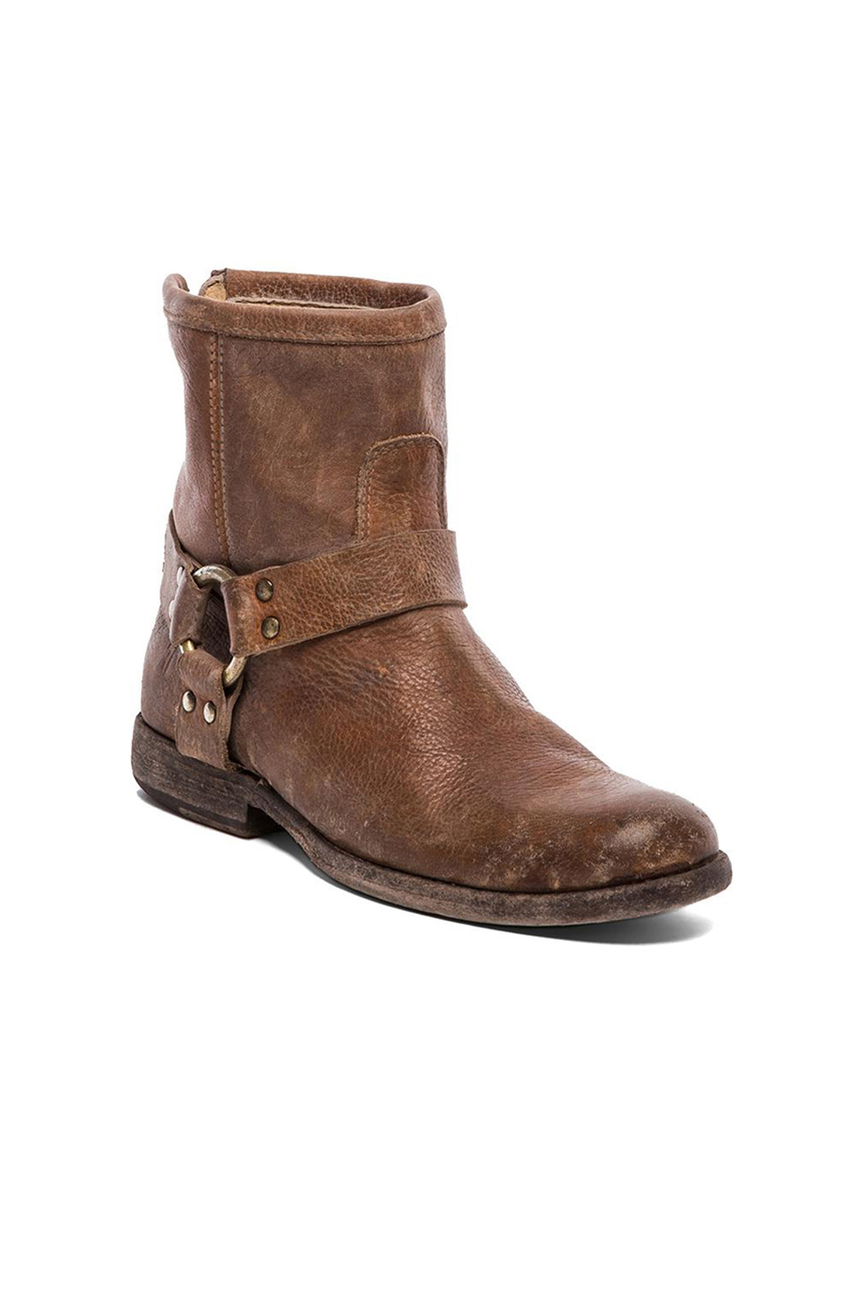 Frye Phillip Harness in Cognac