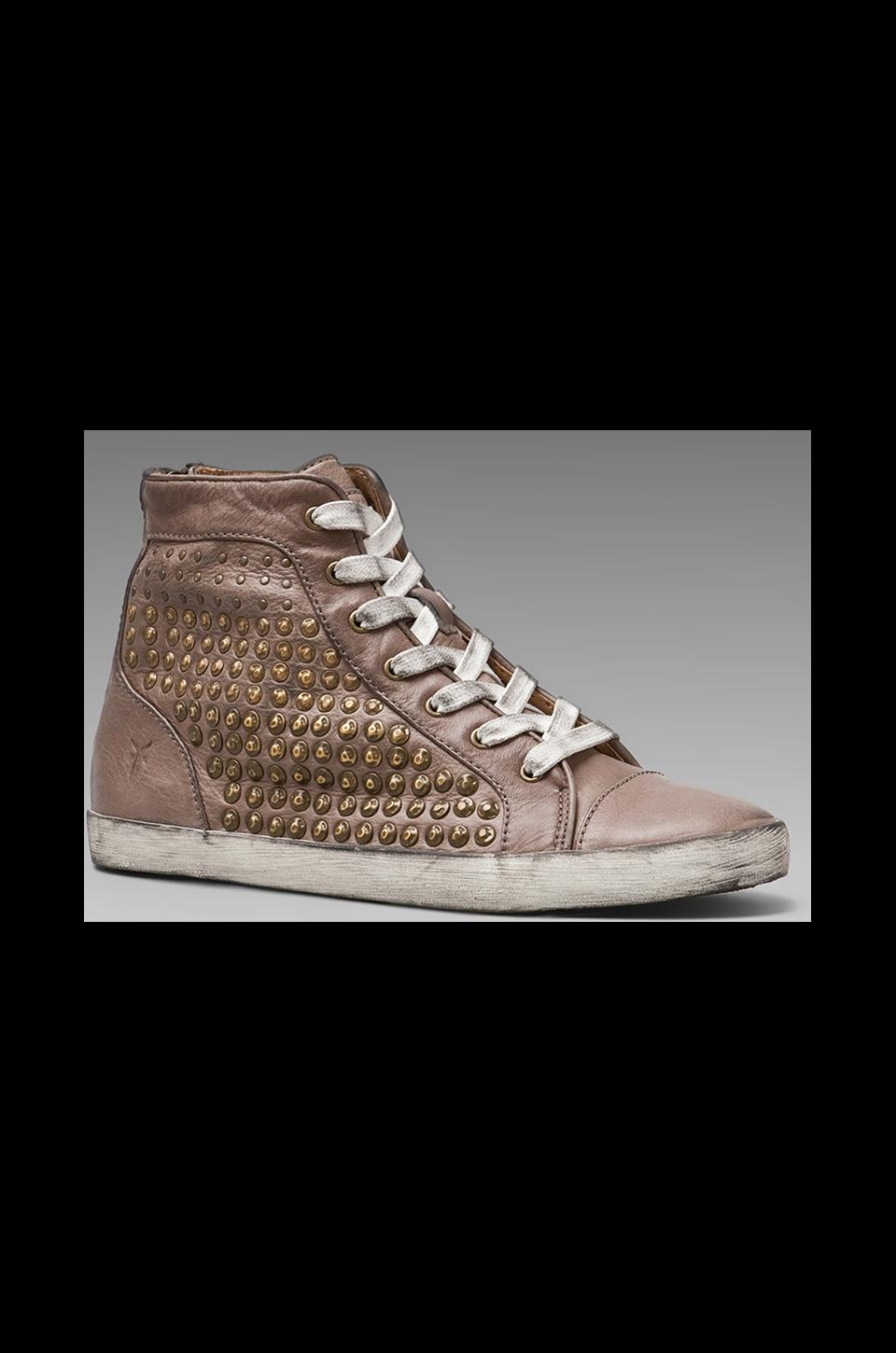 Frye Kira Studded High Top in Grey