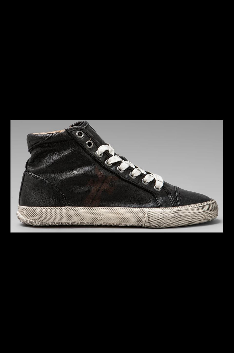 Frye Kira High Top Sneaker in Black