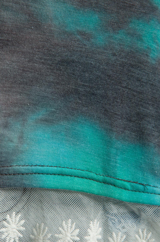 Gypsy Junkies The Gypsy Slip Tank in Blue Tie Dye