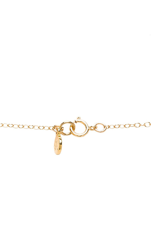 gorjana Cross Over Lariat in Gold