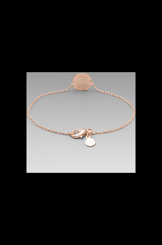 gorjana Sirena Bracelet in Rose Gold