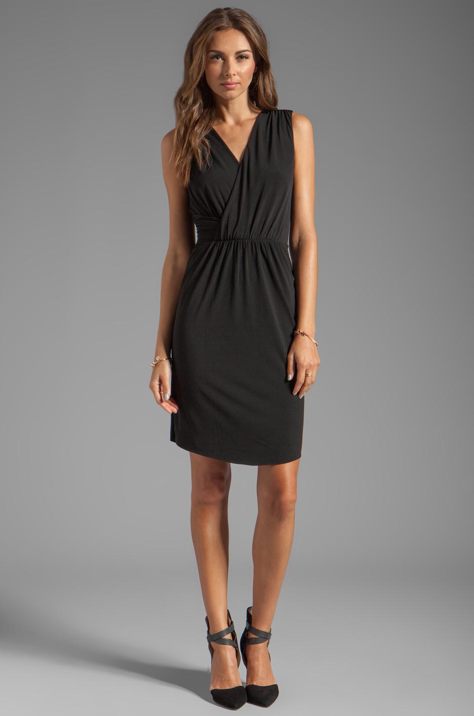 Graham & Spencer Stretch Jersey Dress in Black