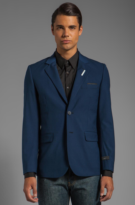 G-Star Correct Omega Blazer in Sapphire Blue