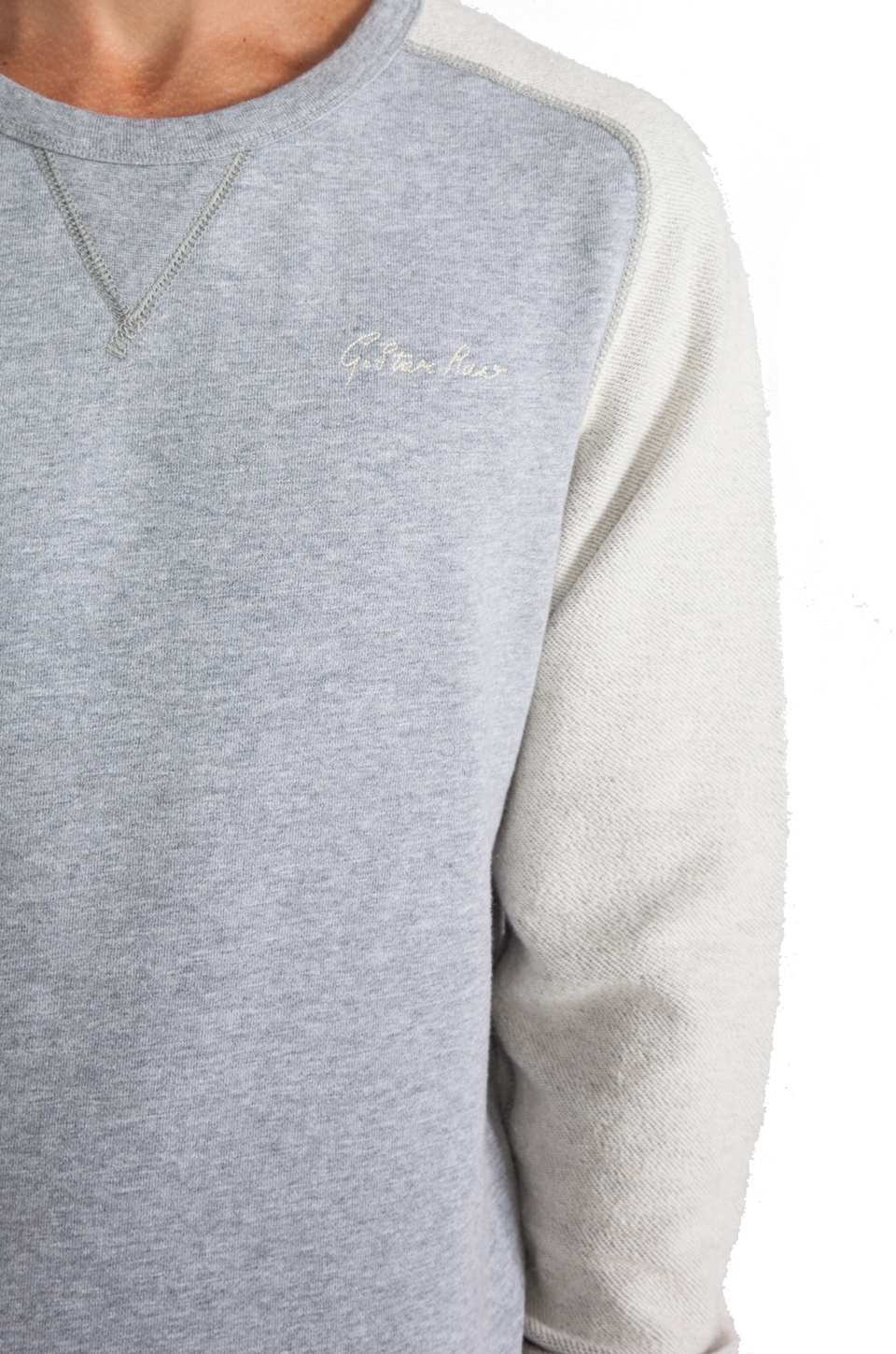 G-Star Ace Saddler Sweatshirt in Grey Heather