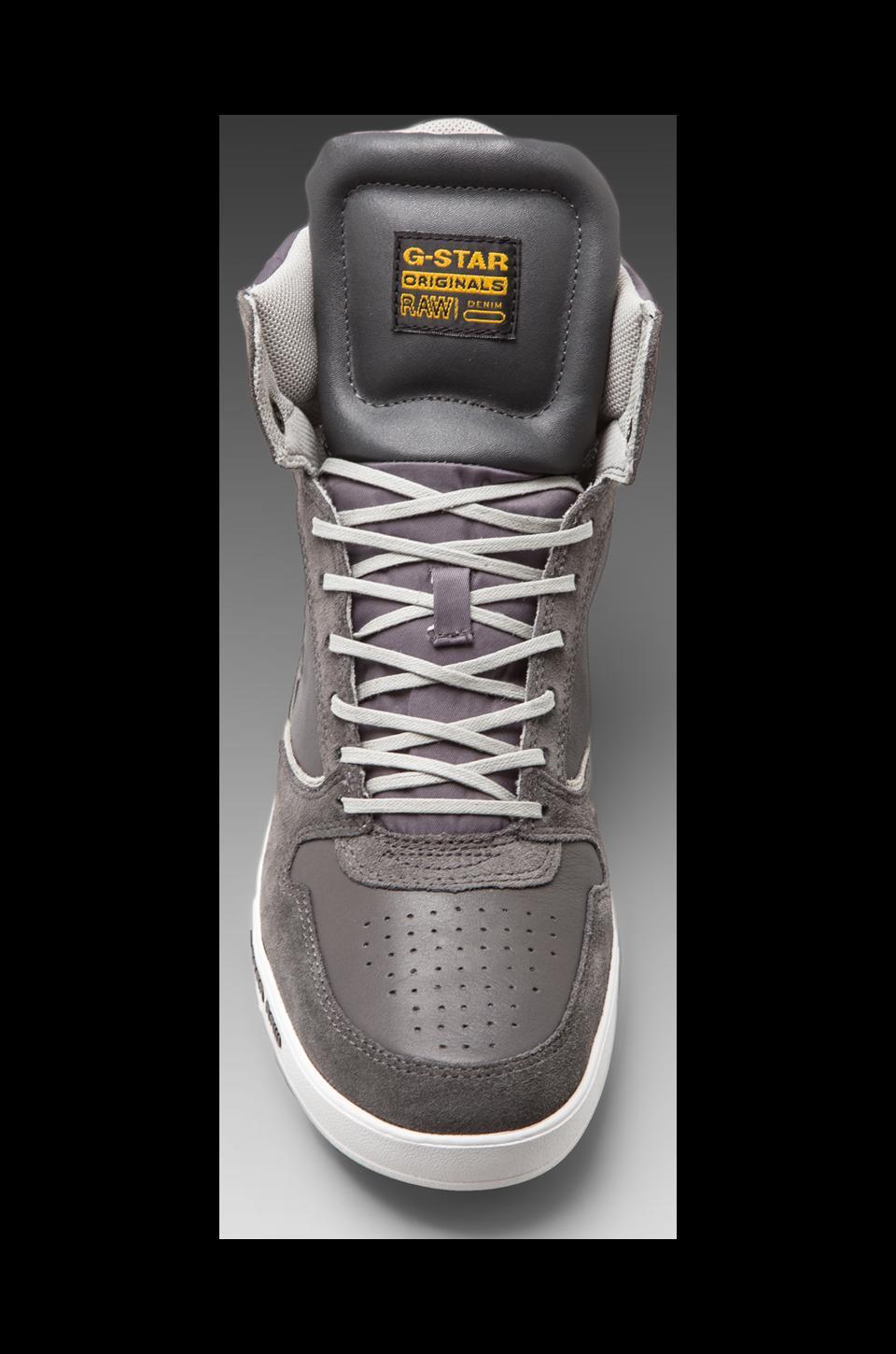 G-Star Yard Pyro in Dark Grey Leather & Suede