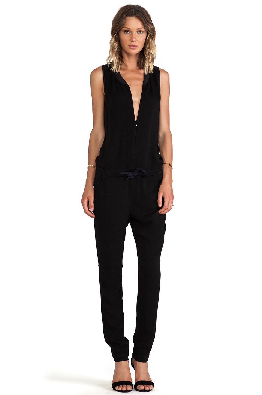 g star upmarsh jumpsuit in black revolve. Black Bedroom Furniture Sets. Home Design Ideas