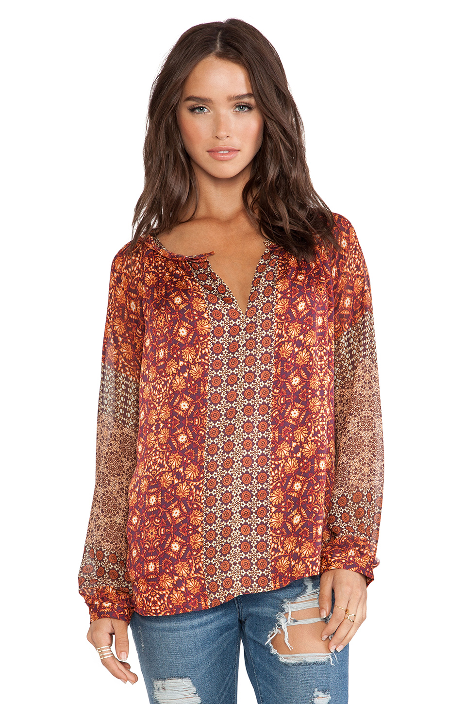 Gypsy Peasant Blouses