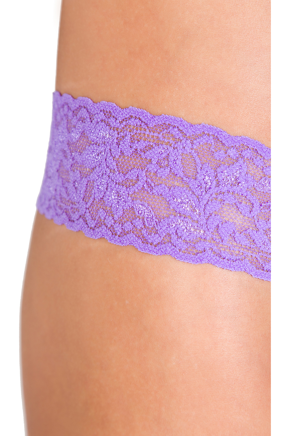 Hanky Panky Low Rise Thong in Electric Orchid