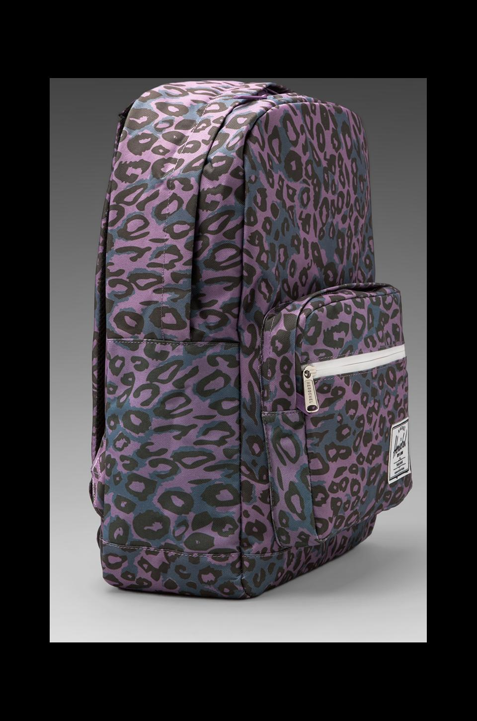 Herschel Supply Co. Pop Quiz Backpack in Purple Leopard