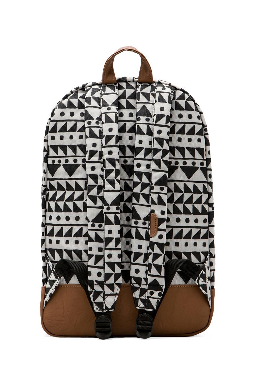 Herschel Supply Co. Heritage Backpack in Chevron Black