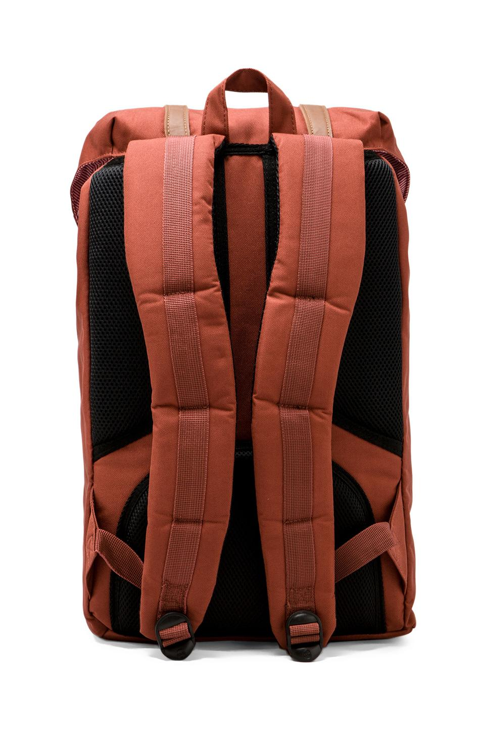 Herschel Supply Co. Little America Backpack in Rust