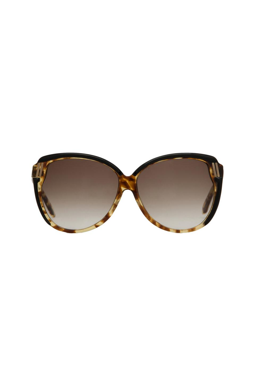 House of Harlow Ella Sunglasses in Tortoise/Black