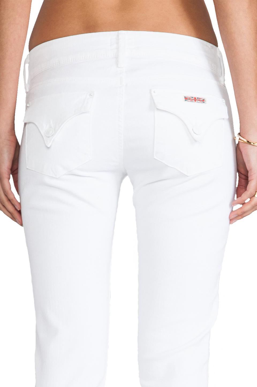 Hudson Jeans Collin Skinny in White