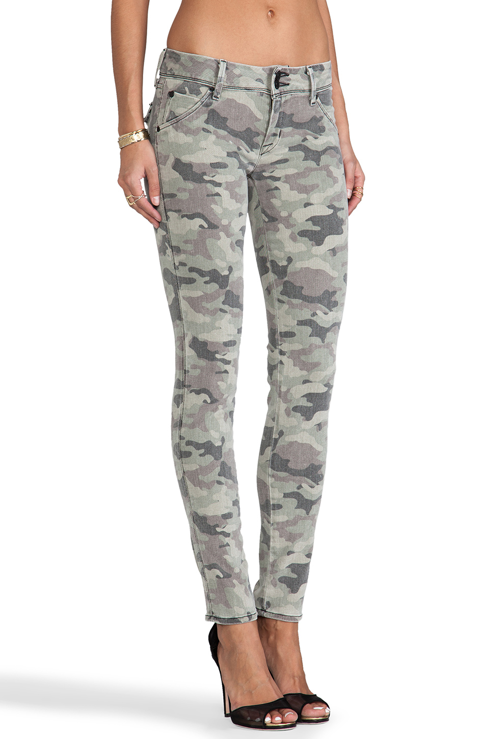Hudson Jeans GNC Collin in Green Camo