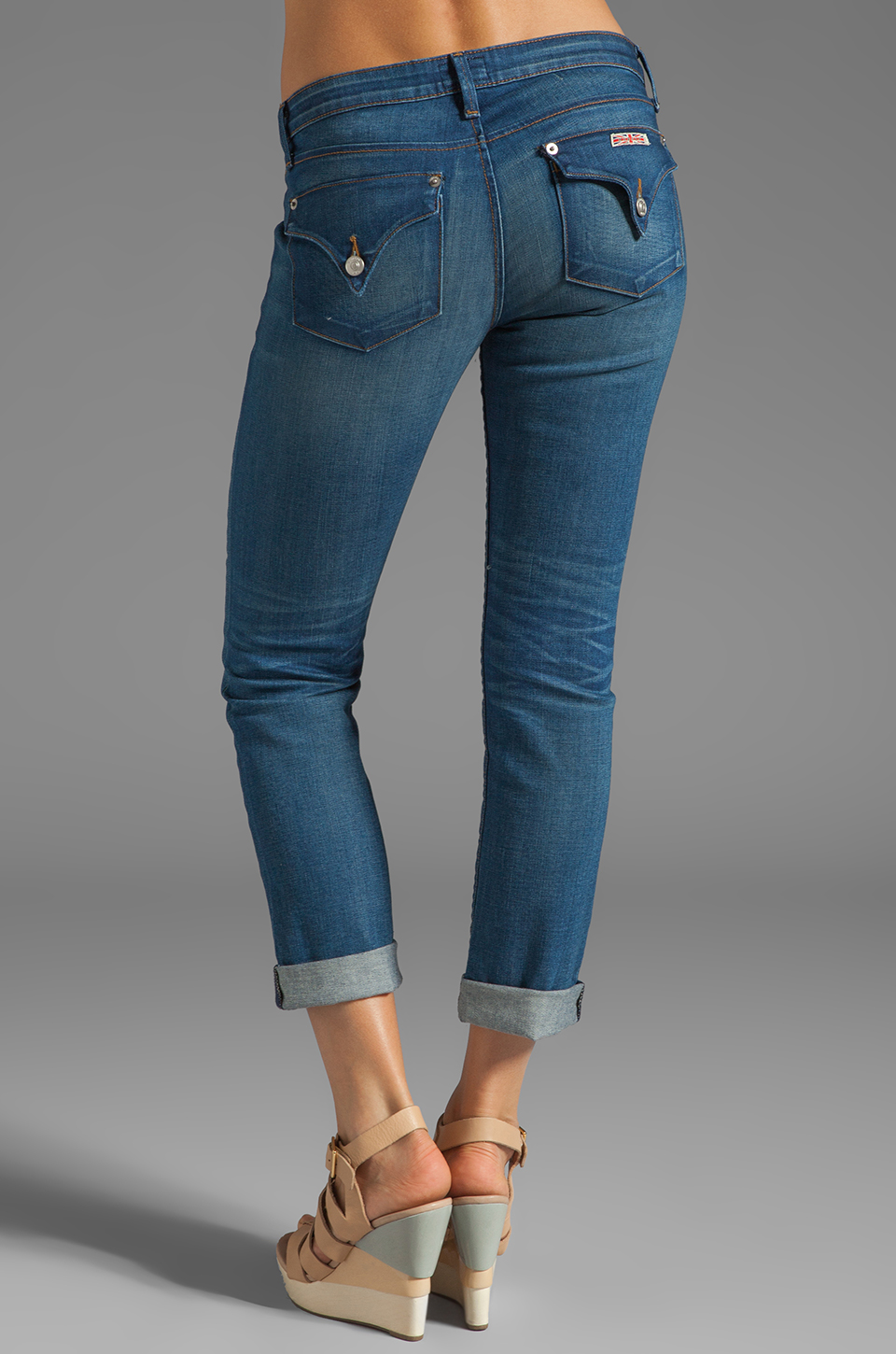 Hudson Jeans Bacara Straight Cuffed in Curtis