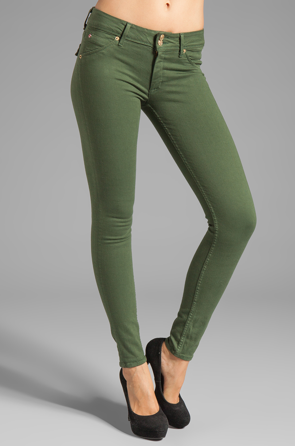 Hudson Jeans Collin Skinny in Fort Forest