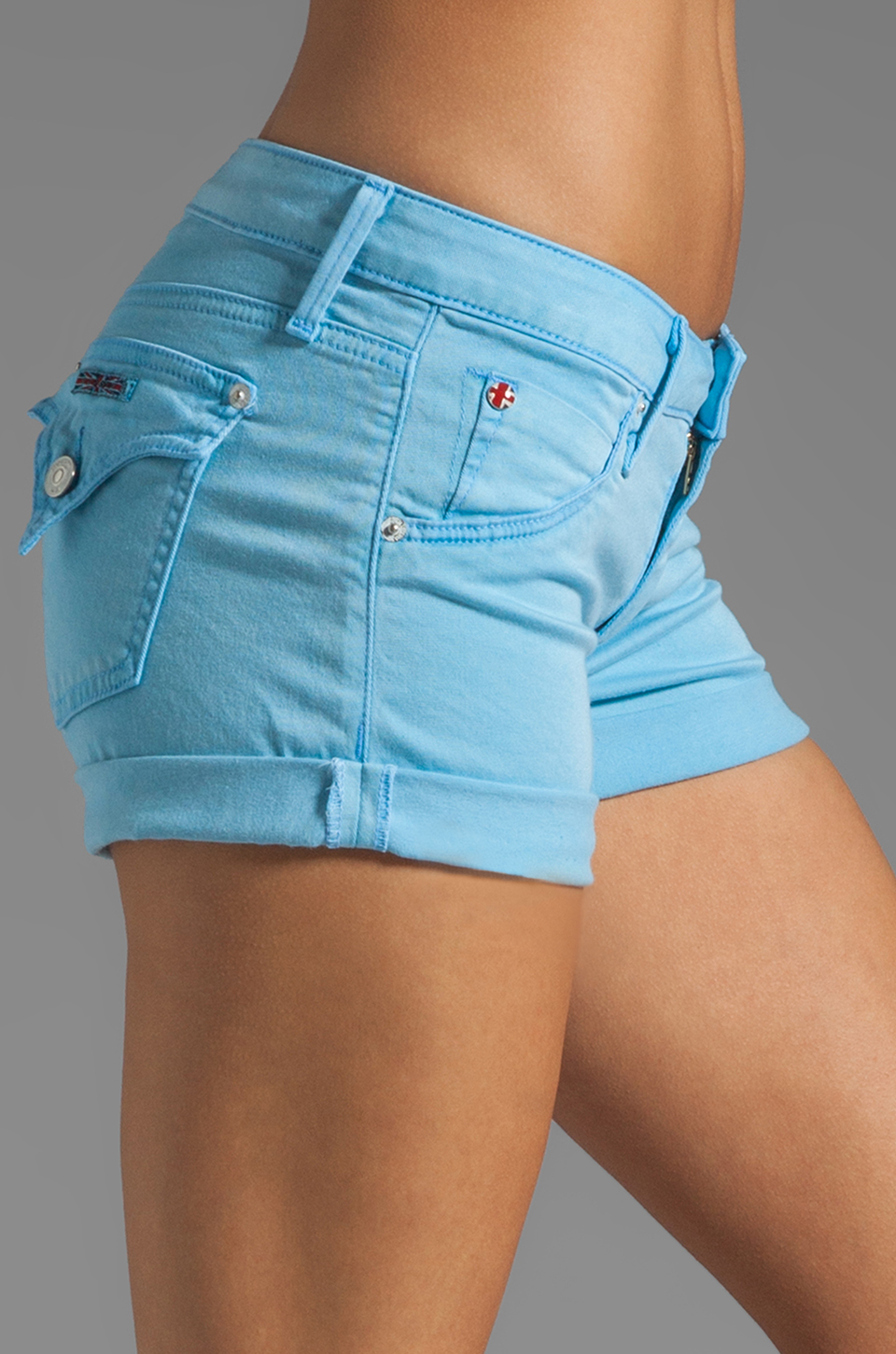 Hudson Jeans Hampton Cuff Short in Poolside