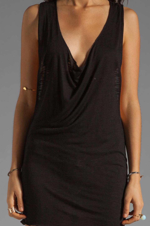 Indah Jaya Jersey Vest in Black