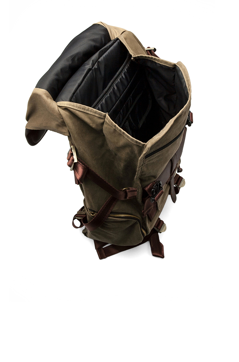 Jansport Skip Yowell Collection Pleasanton Backpack in Army Green