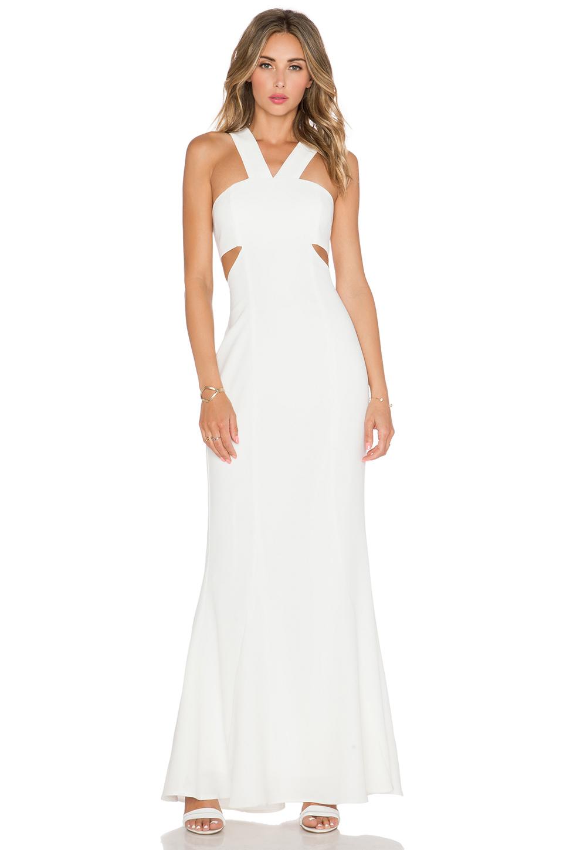 JARLO Daciana Maxi Dress in Ivory