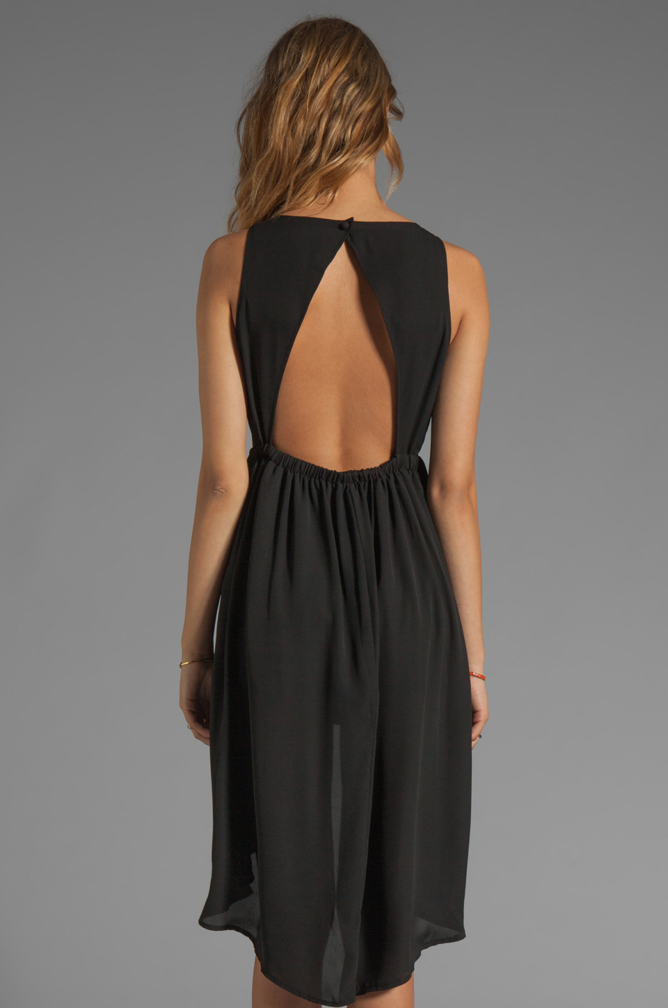 JARLO Allondra Tank Dress in Black
