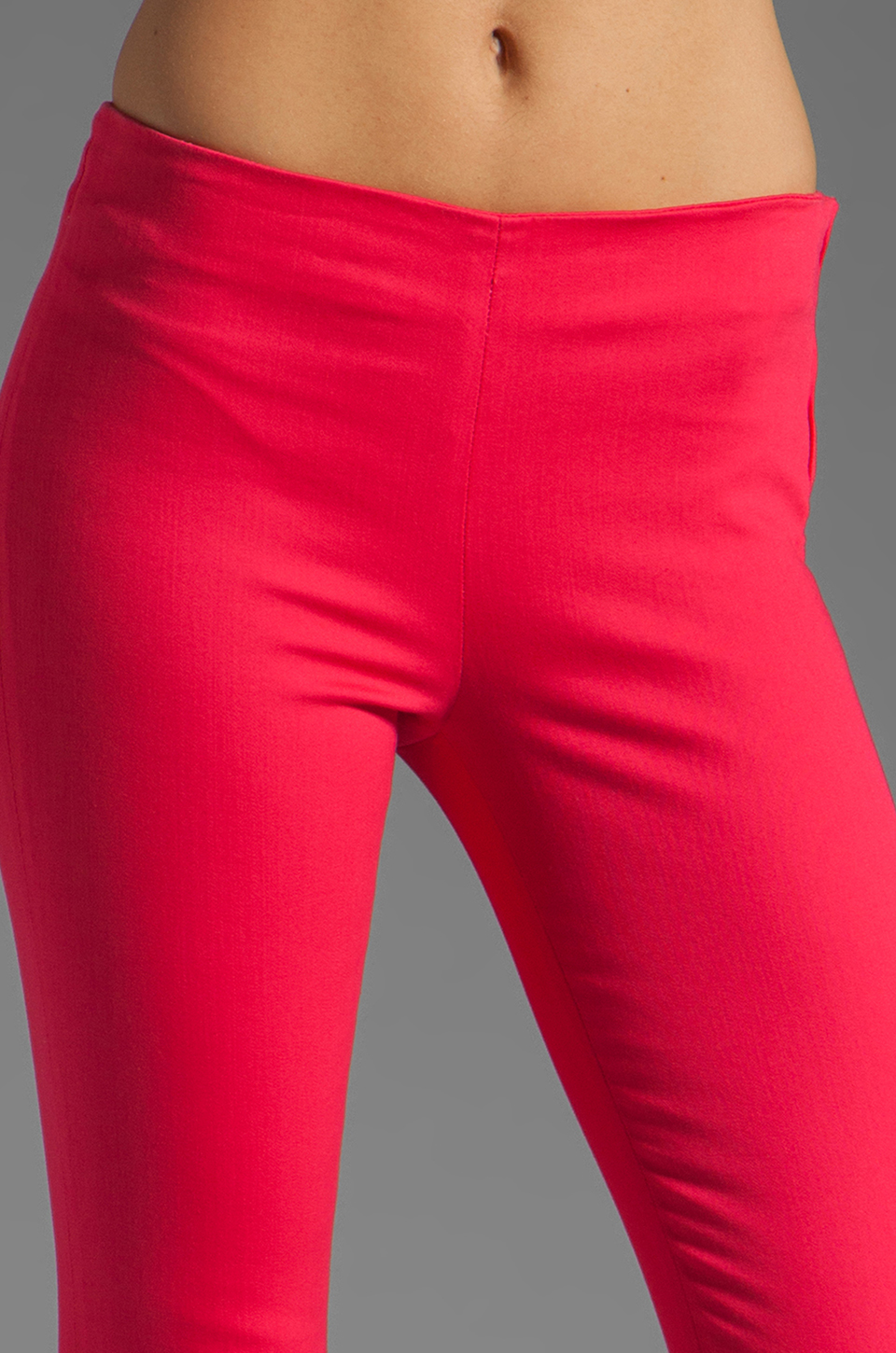 J Brand Clean Capri in Pink Lotus