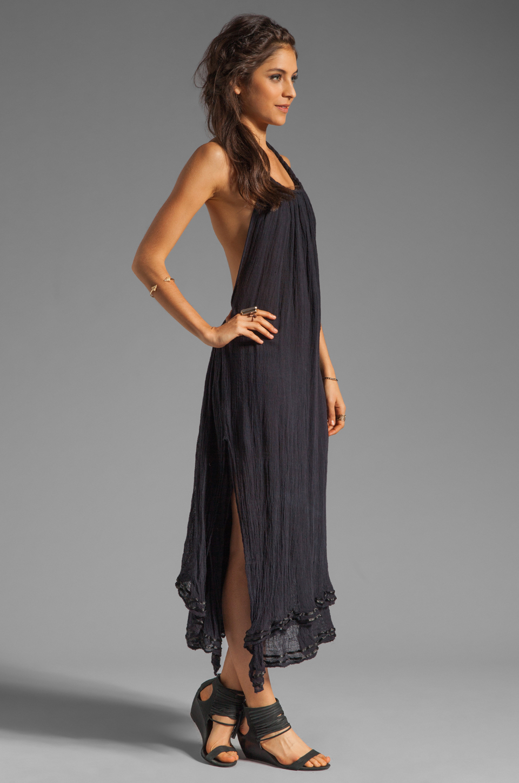 Jen's Pirate Booty Margarita Halter Dress in Black