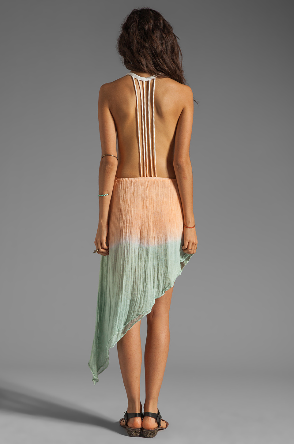 Jen's Pirate Booty San Pancho Backless Gown in Fade #2