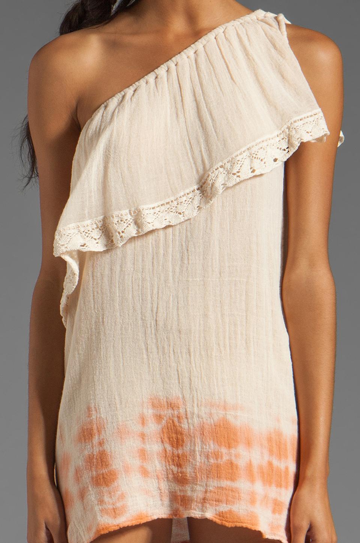 Jen's Pirate Booty Half Moon Bay Mini Dress in Summer Quartz/Cinnamon Edge Dye