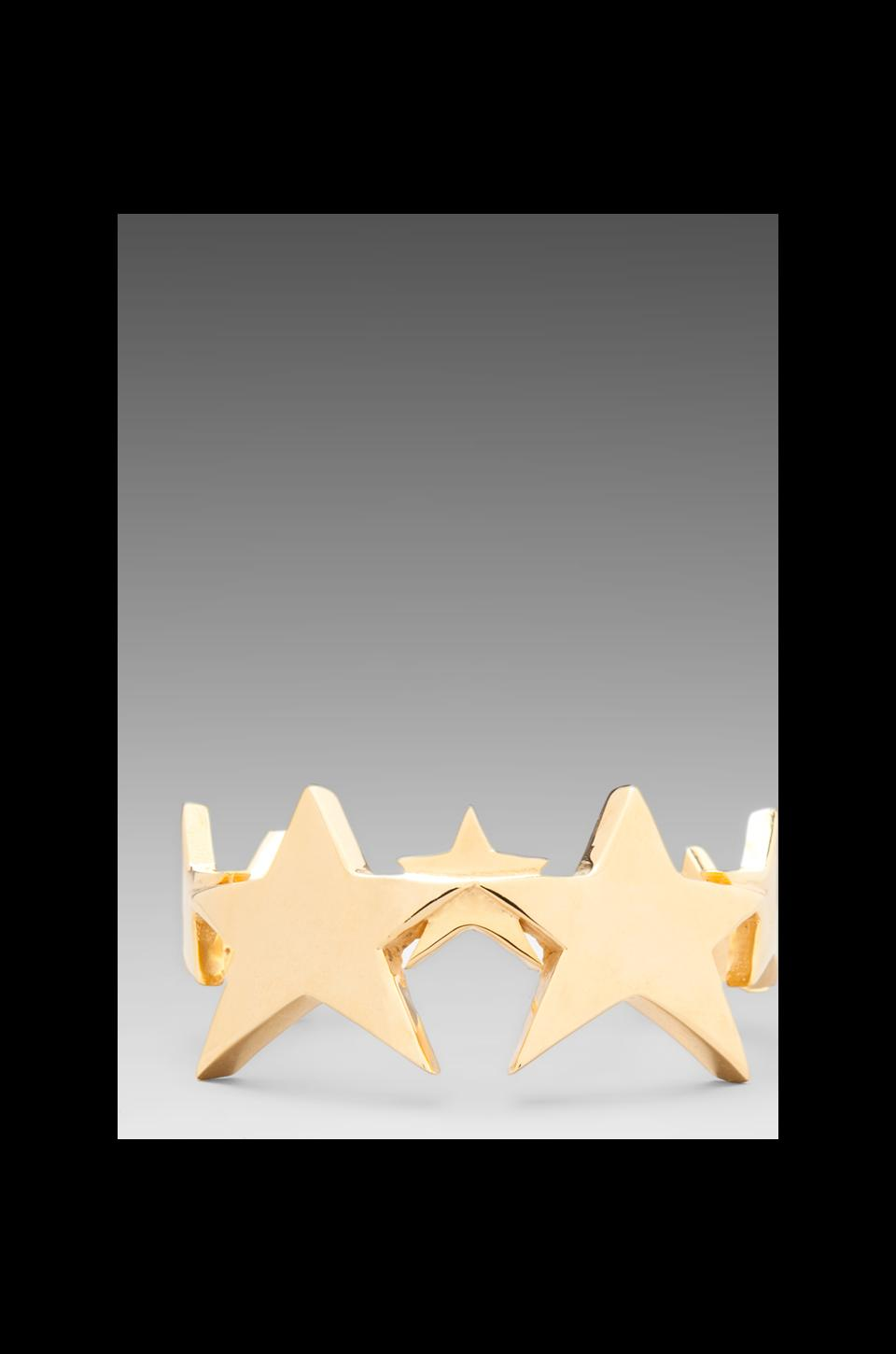 joolz by Martha Calvo Star Cuff in Gold