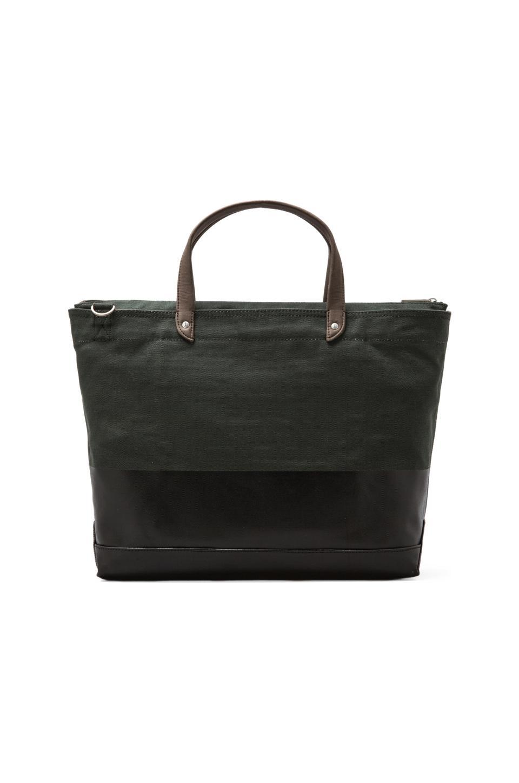 Jack Spade Dipped Carpenter Bag in Evergreen/Black