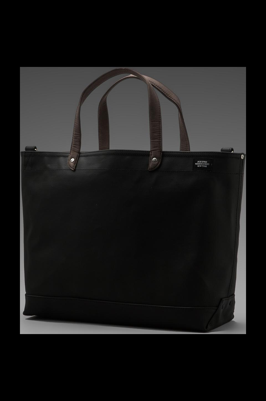 Jack Spade Blackboard Canvas Coal Bag in Charcoal