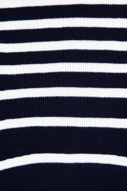 Juicy Couture Peyton Stripe Sweater in Regal/Angel