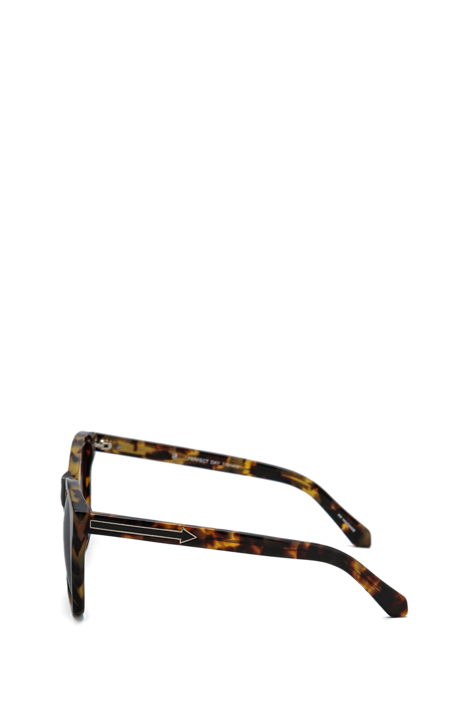 Karen Walker Perfect Day in Crazy Tortoise/Gold/Black