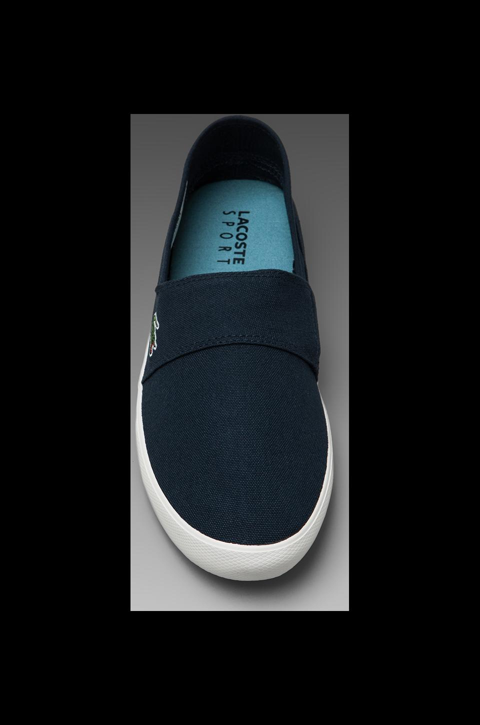 Lacoste Clemente in Dark Blue/Turquoise